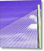 Ravenel Bridge # 2 Metal Print