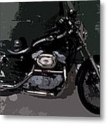 Ready To Ride Metal Print