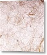 Recycled Paper Texture Metal Print