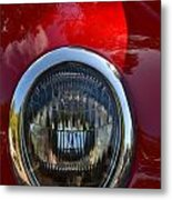 Red Classic Ford Metal Print