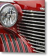 Red Cadillac Metal Print