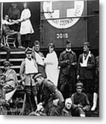 Red Cross, C1918 Metal Print