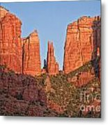 Red Rocks Metal Print