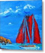 Red Sails Metal Print