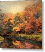 Reflections Of October Metal Print