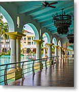Resort In Dominican Republic Metal Print