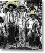 Revolutionary Soldiers Unknown  Mexico Location 1914-2014 Metal Print