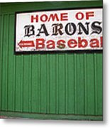 Rickwood Field Metal Print