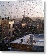 Ridgewood Wet With Rain Metal Print