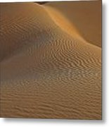 Ripples And Curves Metal Print