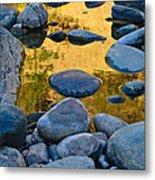 River Of Gold 2 Metal Print
