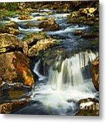 River Rapids Metal Print