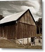 Roadside Barn Metal Print