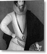 Robert Devereux (1566-1601) Metal Print