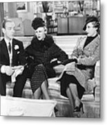 Roberta, From Left Fred Astaire, Ginger Metal Print