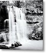 Rock Glen Falls Metal Print