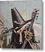 Rocking Witch Metal Print