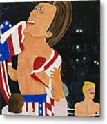 Rocky Balboa Metal Print by Don Larison