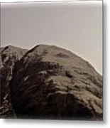 Rocky Hill In The Scottish Highlands Metal Print