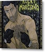 Rocky Marciano Metal Print by Eric Cunningham