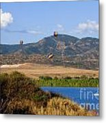 Rocky Mountain Balloon Festival Metal Print