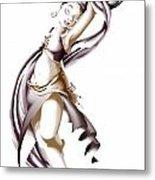 Rohesia Dancer Metal Print