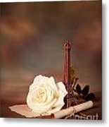 Romantic Still Life Metal Print