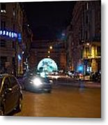 Rome By Night Metal Print