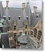 Roof Of Biltmore Estate Metal Print