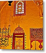Room For Rumi's Sarcophagus In Konya-turkey  Metal Print