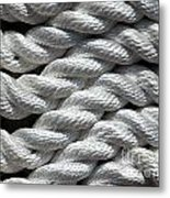 Rope Pattern Metal Print by Yali Shi