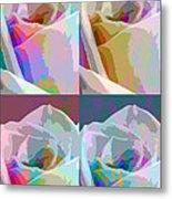 Rose Four Metal Print