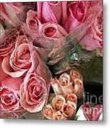 Roses For Sale Metal Print