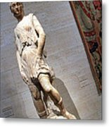 Rossellino's The David Of The Casa Martelli Metal Print