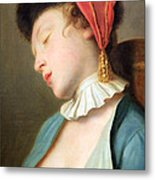 Rotari's A Sleeping Girl Metal Print