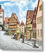 Rothenburg Ob Der Tauber Metal Print
