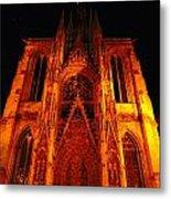 Rouen Church Metal Print
