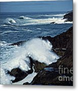 Rough Surf Metal Print