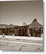 Route 66 - Cool Springs Camp Metal Print