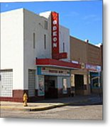 Route 66 - Odeon Theater Metal Print