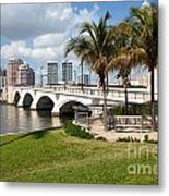 Royal Park Bridge Metal Print