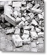 Rubble Metal Print
