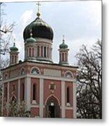 Russian Church Metal Print