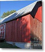 Rustic Red Barn  Metal Print