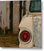 Rusty Car Metal Print