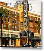 Saenger Theatre New Orleans Paint 2 Metal Print