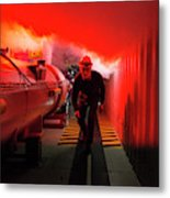 Safety Training At Cern Metal Print
