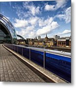 Sage Gateshead And Newcastle Skyline Metal Print