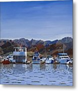 Saguaro Lake Left Metal Print