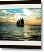 Sailboat Metal Print by Bruce Kessler